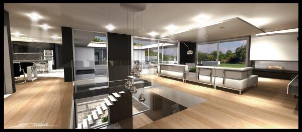 Interieurs archi touraille - Villa d architecte moderne ...